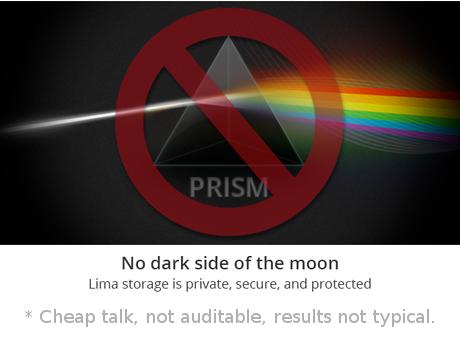 Non-auditable slash-PRISM Lima