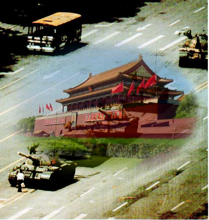 tiananmen photo mash